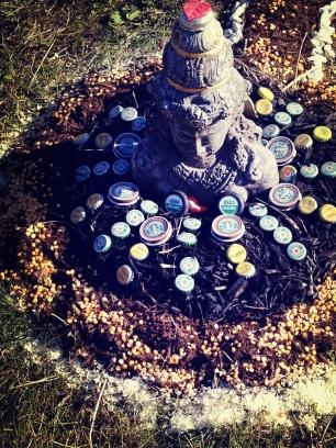 bottlecap buddha